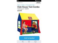 Club house tent combo new in box