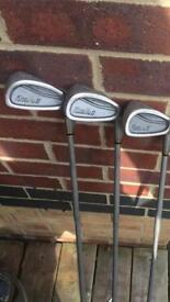 Golf clubs king cobra and others (see pics for types)