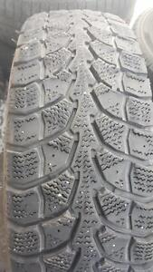 2 PNEU HIVER - WINTER CLAW LT 225 75 16 - WINTER TIRE