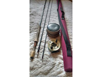 Hardy Gem Mk 2 11' #7 Fishing Rod & Hardy Gem Reel