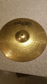 "Paiste 101 Brass Crash 16"" Cymbal"