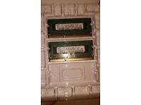Samsung 1GB DDR3 Memory SO-DIMM 204pin PC3-8500S 1066MHz M471B2873EH1-CF8