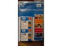 2x HP Inkjet Print Cartridge + print cartridge protector 348C9369EE