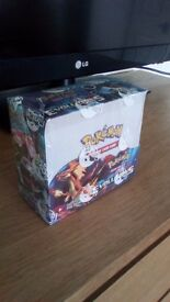 Sealed Box of Pokemon Trading Cards (36 booster packs) Brand new never opened.