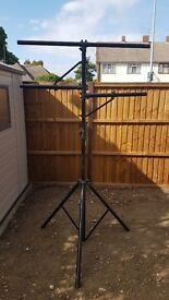 T-bar Lighting Stand with Side Bars - can deliver local
