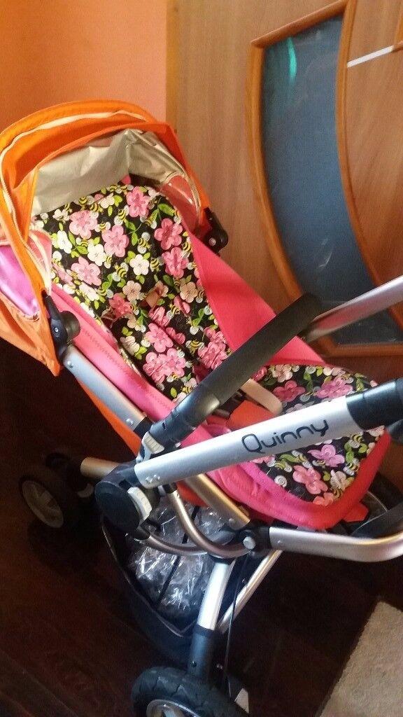 Quinny buzz pushchair travel system