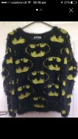 Batman fluffy jumper