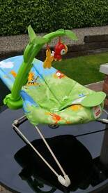 Fisher Price Rain Forest bouncer/vibrating chair