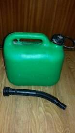 Auto Route Plastic Petrol Can holds up to 5 Litres