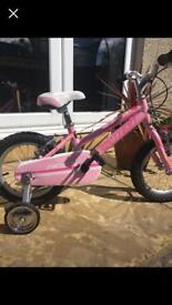 Girls Python bike