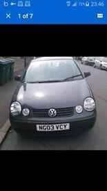 vw polo 2003 very clean car mot