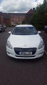 Peugeot 508sw, 2011, 2lt, great family car, sat nav, Bluetooth, ex runner, great condition,