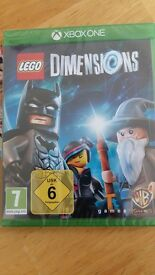 Lego Dimensions game for X Box one.