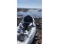 Sea , river , lake fishing sit on kayak ( SOLD )