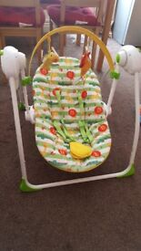 Baby Swing Mothercare kids swing from birth