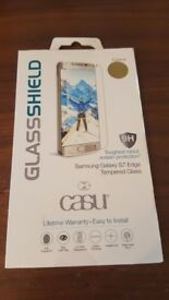Glassshield Colour Gold Samsung Galaxy S7 Edge Tempered Glass
