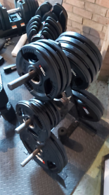Body Power Olympic Rubber Weights