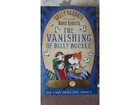 Unopened pack of 3 Fairy Detective Agency books by Sally Gardener - £2