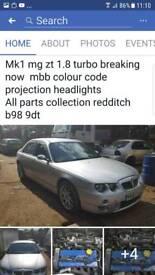 Mg zt 1.8t mk1 breaking now