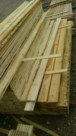 4x1 Untreated Timber (22mm x 100mm) Wany Edge 2.4mtr Lengths