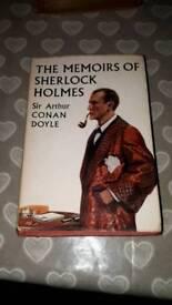 Sherlock Holmes vintage book