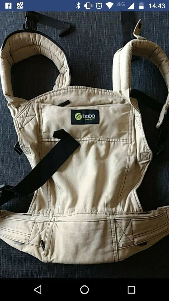 Boba 3g Baby Carrier Beige And Black In West End Glasgow Gumtree