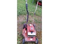 Victa pro petrol lawn mower two stroke alloy deck