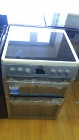 BEKO electric cooker new ex display which may have minor marks or blemishes.
