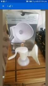 Tomee tippee manual breast pump