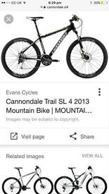 Lovely cannondale mountain bike disc brakes worth a lot of money bargin