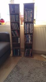 3x DVD Shelves, 1x CD Shelves (individually or together)