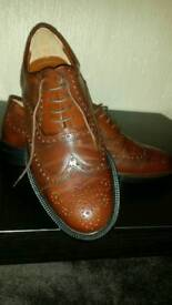 NEW Brevitt formal leather shoes size 9