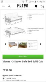 Futon bed company 3 seater vienna.*Bed frame only*