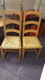 2X Chairs in Great Condition