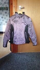 Ladies size 12 'Bering' motorcycle jacket - £50 ono