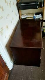 Tv Draw with cupboard and one draw