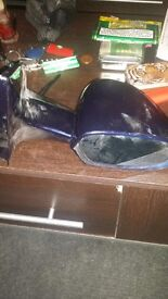 Door mirrors for a vauxhall astra mark 4