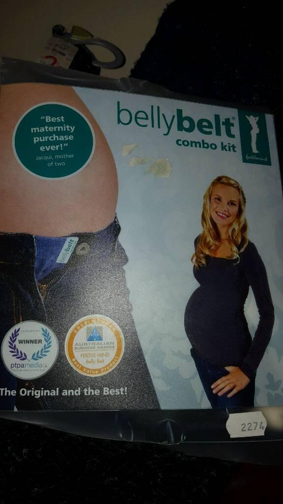 Pregnancy belly belt