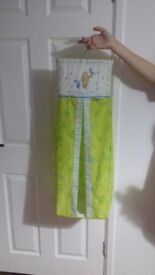 Nappy holder holds about 30 nappies