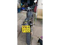 On road Motorbike(85cc)