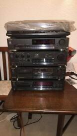Technics 1988 hi-fi system
