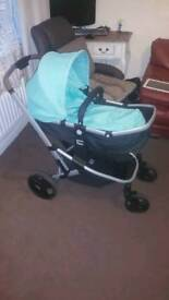 mothercare pram car seat travel system