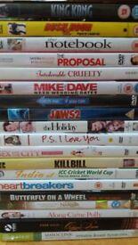 Hollywood DVDs