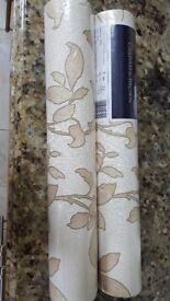 2 rolls of Graham & Brown wallpaper