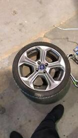 "Ford Fiesta wheels 17"""