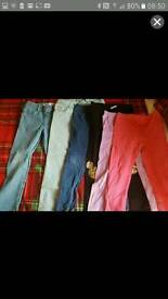 Girls 6-7 leggings jeggings and jeans