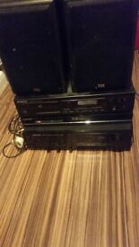 Hi fi system with dvd player