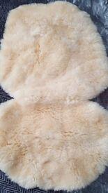 John Lewis pram sheep skin