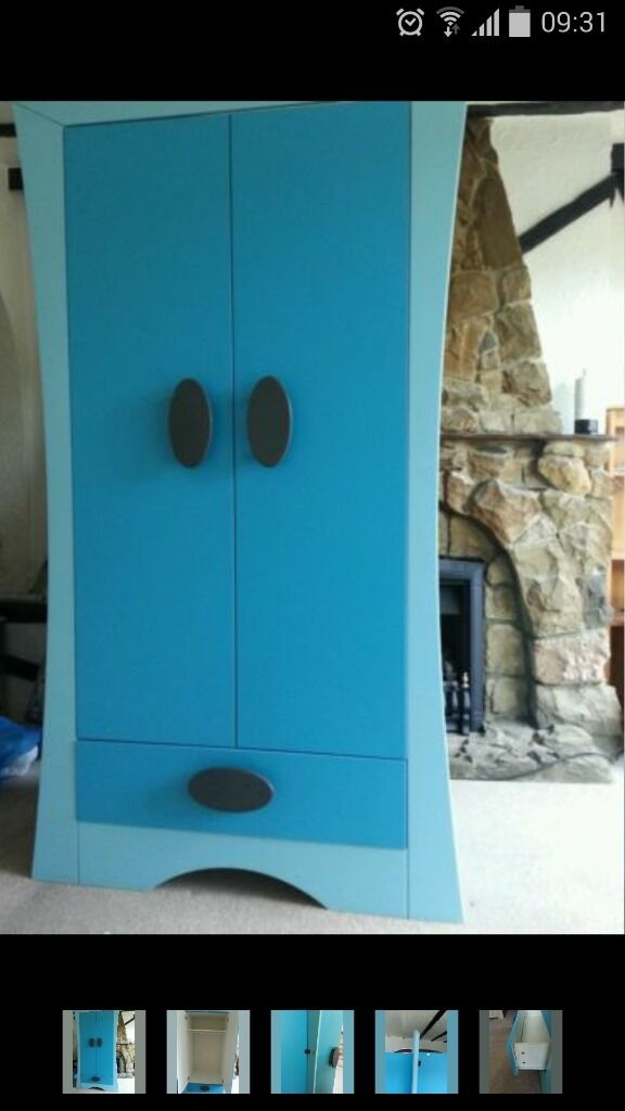 Boys Blue Ikea Mammut Double Wardrobe Can Deliver