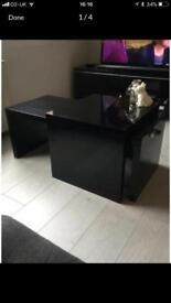Next black gloss coffee table